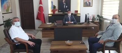 KAYMAKAM KOŞANSU'YU ZİYARET ETTİLER