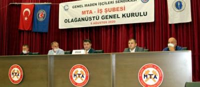 MTA-İŞ ŞUBE GENEL KURULU YAPILDI