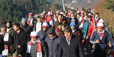 SARIKAMIŞ ŞEHİTLERİ DEVREK'TE ANILDI
