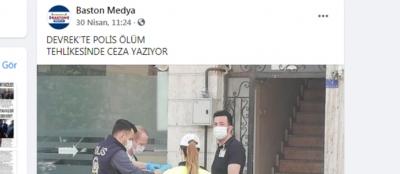 SÖZDE GAZETECİ(!) YİNE POLİSİMİZİ HEDEF ALDI!