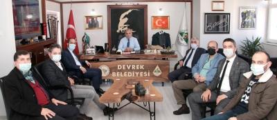 SP YÖNETİMİNDEN BAŞKAN BOZKURT'A ZİYARET