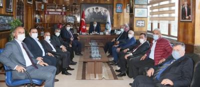 TÜRK-İŞ GENEL MALİ SEKRETERİ AĞAR'DAN GMİS'E ZİYARET