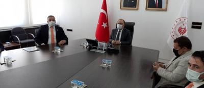 VALİ TUTULMAZ'I ZİYARET ETTİ