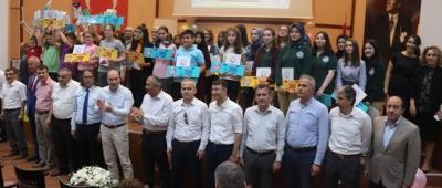 'ZONGULDAK OKUYOR YARIŞMASI'NIN ÖDÜL TÖRENİ YAPILDI